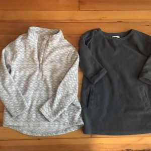 Fleece pullover bundle